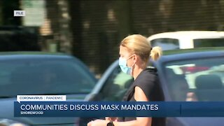 Local communities discuss mask mandates