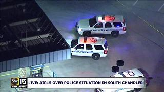 AIR15: Police shot at during pursuit in south Chandler - Video