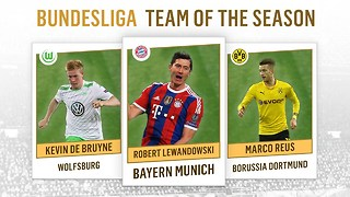 Bundesliga Team of the Season 2014-2015 - Video