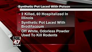 Health alert regarding synthetic marijuana - Video