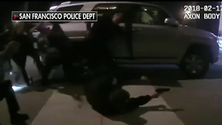 65 SHOTS 15 SECOND - video shows chaotic San Francisco police shootout