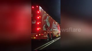 Coca-Cola truck spotted - so can Christmas countdown begin? - Video