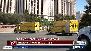 Power outage at Las Vegas Strip hotel-casino