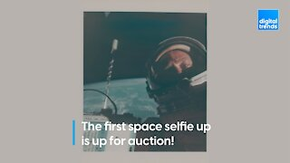 You can own the first space selfie!