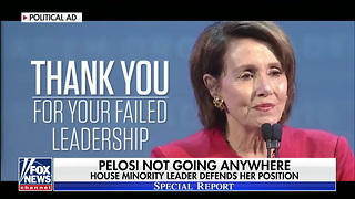 Pelosi Announces Her Plans After the Midterms — She's Not Going Anywhere - Video