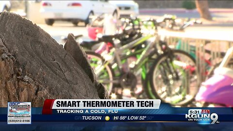 Smart thermometer technology helps some parents track illness among students