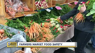 Farmers market food safety