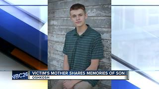 Mother of Oshkosh murder victim shares memories of her son - Video