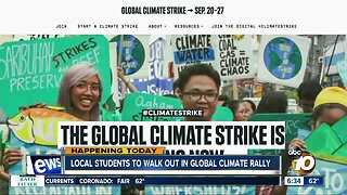 Students from several San Diego schools to walk out for climate change rally