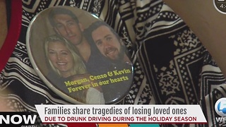 Families share tragedies of losing loved ones - Video
