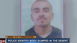 Man found dead in desert identified - Video