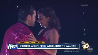 Victoria Arlen: from wheelchair to dancing - Video