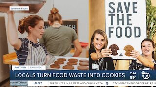 Locals turn food waste into cookies