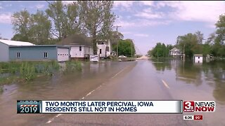 Percival residents still can't return home two months after flooding