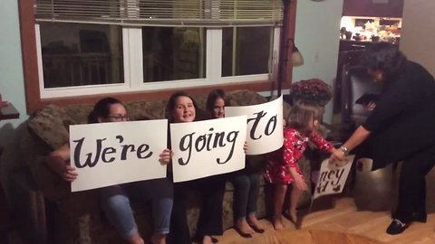 OMG – These Kids Just Found out They're Going to Disney!
