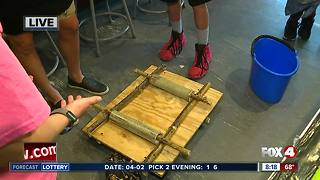 Homeschool robotics team qualifies for state competition - 8am live report - Video