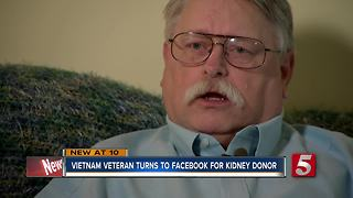 Vietnam Veteran Turns To Facebook For Kidney Donor