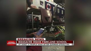 Students react to school shooting that left 17 dead - Video