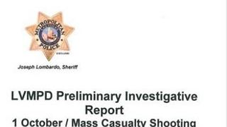 UPDATE: Preliminary report for mass shooting released by Las Vegas police - Video