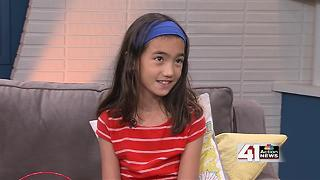 9-year-old KC girl collects 200+ backpacks for Salvation Army - Video