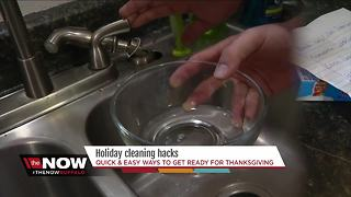 Holiday cleaning hacks