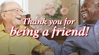 Thank You Friend - Greeting 3 - Video