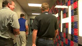 NASCAR's Clint Bowyer visits One Bills Drive - Video