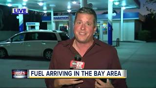 Fuel arriving in the Bay Area on Wednesday - Video