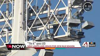 Bright lights will soon shine at Kauffman Stadium - Video