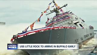 New USS Little Rock expected to arrive Monday - Video