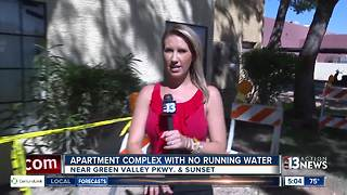 Henderson apartment has no running water again - Video