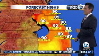 South Florida weather 8/19/18
