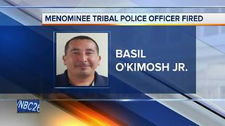 Menominee Tribal Police officer arrested for alleged inappropriate communication with teen - Video