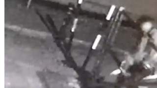 CCTV Captures Cyclist Using Mobile Phone Crashing Into Gate - Video