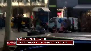 Death toll in Spain attacks rises to 14 - Video