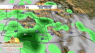 FORECAST: Thunderstorms back in the forecast - Video