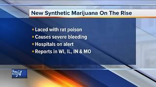 Warning issued for synthetic marijuana laced with rat poison - Video