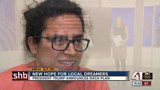 Trump proposal brings new hope for local dreamer - Video