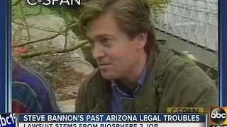 President-elect Trump's chief Strategist was once CEO of Biosphere 2 - Video