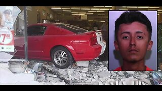WATCH: Driver crashes Ford Mustang through store in downtown Haines City