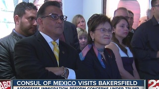 Consul of Mexico visits Bakersfield