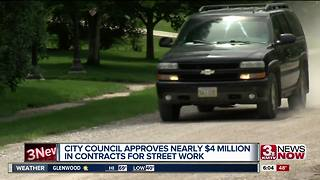 City council approves contracts for street work - Video