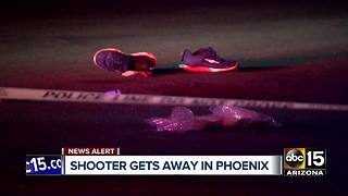 Shooting in west Phoenix seriously injures one - Video