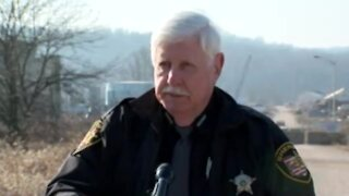 Sheriff talks about partially collapsed building