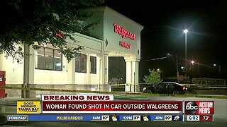 Woman found shot in car outside Brandon Walgreens