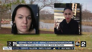 Police, family still searching for missing mother and daughter