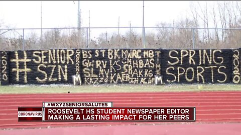 Roosevelt High School student newspaper editor making a lasting impact for her peers
