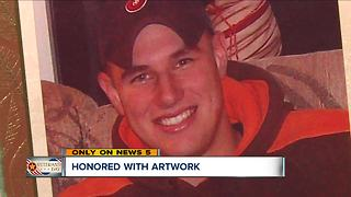New mural in Amherst honors fallen Lorain County servicemen - Video