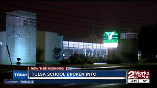 Two teens break into Edision Middle School overnight - Video