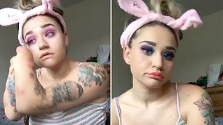 Quadruple Amputee Defies Odds To Launch Make-Up Career